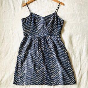 Madewell Broadway & Broome Silk Mini Dress